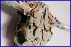 Crâne de taureau de Patina