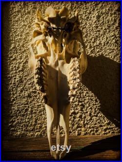 Déité Dédicace Lilith Sigil Garnet Crâne d autel