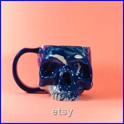 Faux Taxidermie, Tasse de poterie, Crâne, Tasse de crâne, Tasse de café, Accessoires d Halloween, Décor de maison gothique, Décor d Halloween, Cadeau de mens, Cadeau gothique