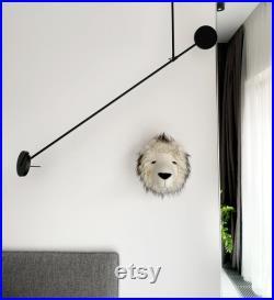 Lion Home Wall Art Decor, Safari Wall Decor, Lion Nursery Wall Decor, Faux Taxidermy Lion Head Wall Mount, Lion Wall Decor