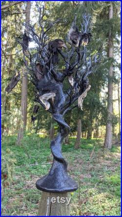 Mini musée curio arbre 15pc