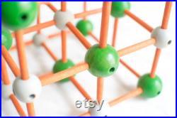 Modèle de chimie de bois de cru
