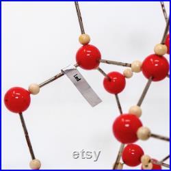 vintage School Educational Molecular Model Of Ice 9510
